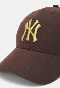 '47 - NEW YORK YANKEES SNAP UNISEX - Cap - brown - 3