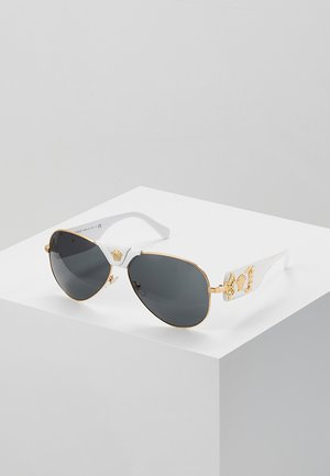 Sunglasses - gold-coloured/ white