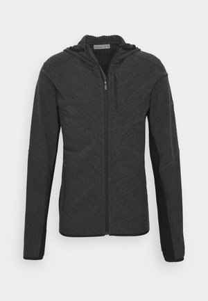 MENS DESCENDER ZIP HOOD - Veste de survêtement - grey
