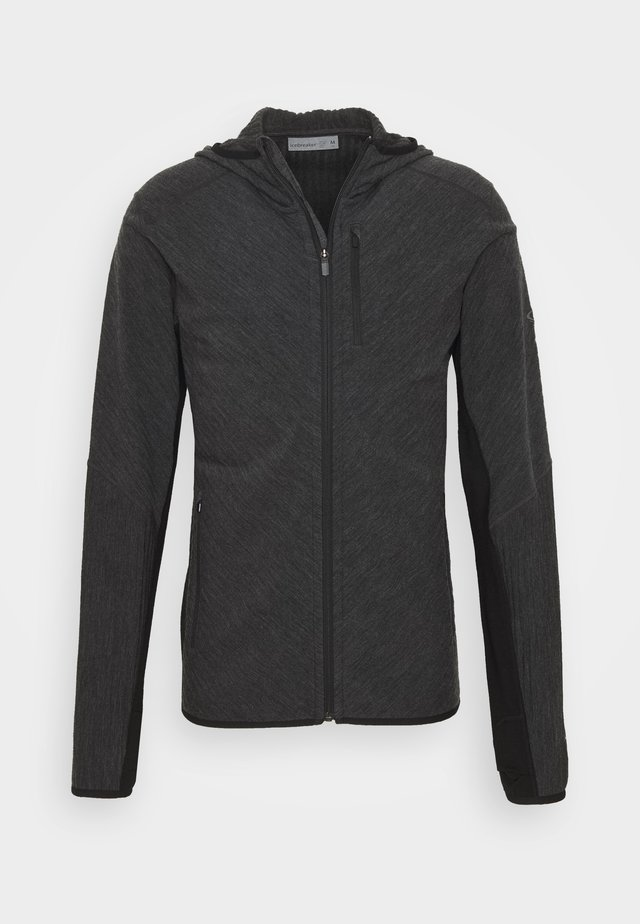 MENS DESCENDER ZIP HOOD - Training jacket - grey