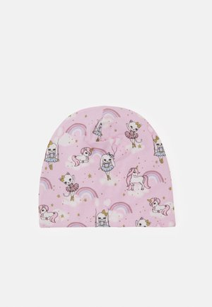 TRICOT UNICORN CAT RAINBOWS UNISEX - Čepice - dusty pink