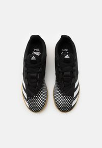 adidas Performance - PREDATOR 20.4 FOOTBALL SHOES INDOOR UNISEX - Indoor football boots - core black/footwear white - 3