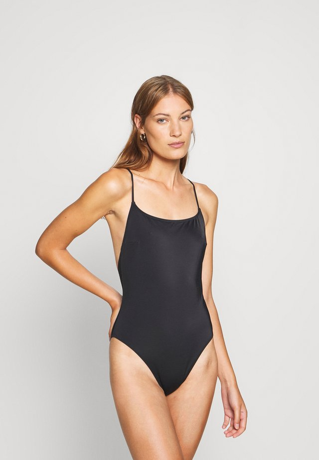 SWIMSUIT - Swimsuit - black dark