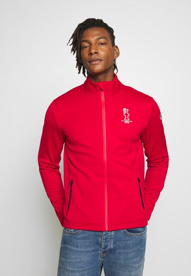FULL ZIP - Treningsjakke - red