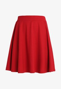 SC-DENA SOLID 58 - Áčková sukně - ruby red