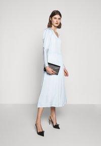 Bruuns Bazaar - ANOUR ART DRESS - Day dress - heather blue - 1