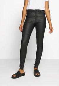 Object - OBJBELLE PANTS - Trousers - black - 0