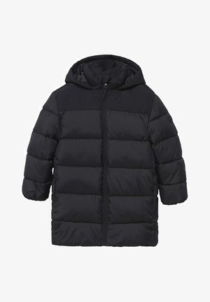 MIT KAPUZE - Winter coat - schwarz