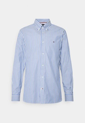 BOLD STRIPE REGULAR FIT - Shirt - copenhagen blue/ivory /yale navy