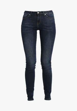 SLFIDA SKINNY - Jeans Skinny Fit - dark blue denim