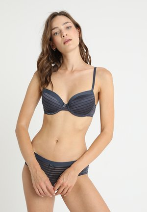 LOUISE BRA 2 PACK - Beugel BH - blue charcoal/blush