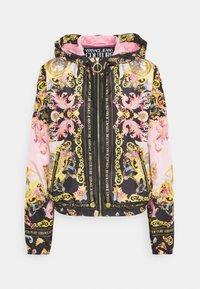 Versace Jeans Couture - LADY DUSTCOAT - Kurtka wiosenna - pink confetti/black - 0