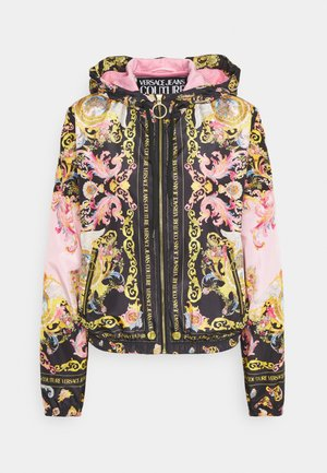 LADY DUSTCOAT - Summer jacket - pink confetti/black