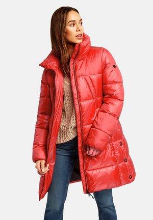 Winter coat - carmine red