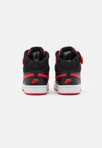 Nike Sportswear - COURT BOROUGH MID 2 UNISEX - Zapatillas altas - black/university red/white - 2