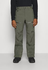 Oakley - LINED SHELL PANT - Snow pants - new dark brush - 0