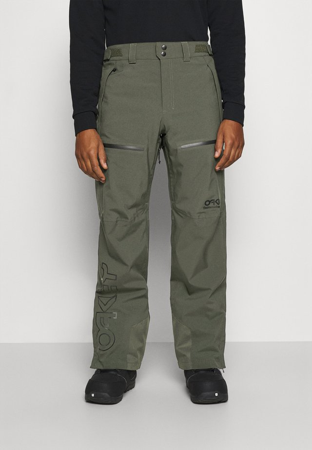 LINED SHELL PANT - Ski- & snowboardbukser - new dark brush