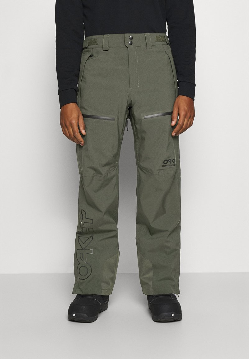 Oakley - LINED SHELL PANT - Snow pants - new dark brush