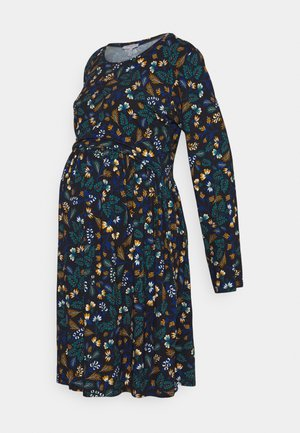 LIMBO - Jersey dress - navy blue
