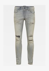 G-Star - LANCET SKINNY - Jeans Skinny Fit - vintage ripped oreon grey - 0