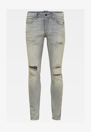 LANCET SKINNY - Jeans Skinny Fit - vintage ripped oreon grey