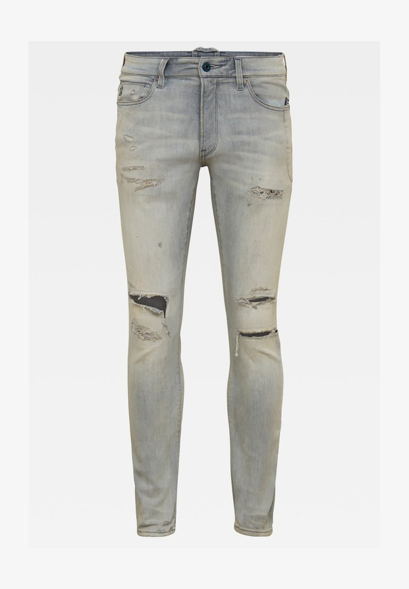 G-Star - LANCET SKINNY - Jeans Skinny Fit - vintage ripped oreon grey
