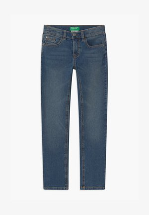 BASIC BOY - Slim fit jeans - blue denim
