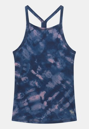 BACK DETAIL ACTIVE TANK - Toppe - blue