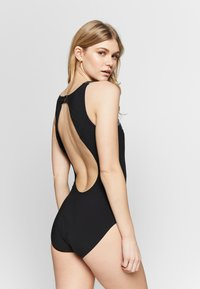 Speedo - VIVASHINE - Swimsuit - black/grey - 2
