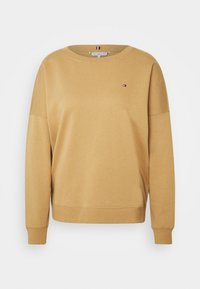 Tommy Hilfiger - OVERSIZED OPEN - Sweatshirt - timeless camel - 0