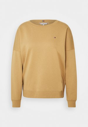 OVERSIZED OPEN - Collegepaita - timeless camel