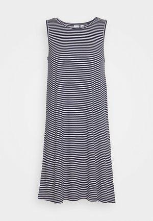 SWING DRESS - Jersey dress - navy