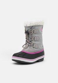 Sorel - YOUTH YOOT PAC - Winter boots - chrome grey/black - 1
