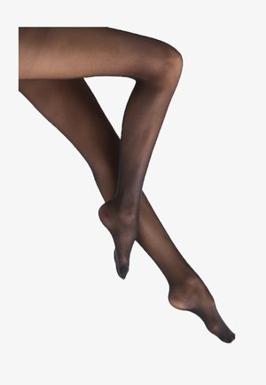 40 DEN SATIN LOOK - Tights - black