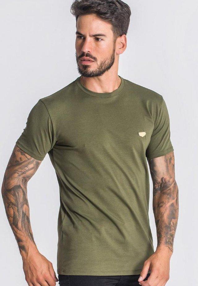 T-shirt basic - army green