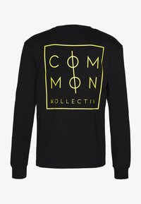 Common Kollectiv - UNISEX ZONE LONGSLEEVE  - Bluzka z długim rękawem - black - 1