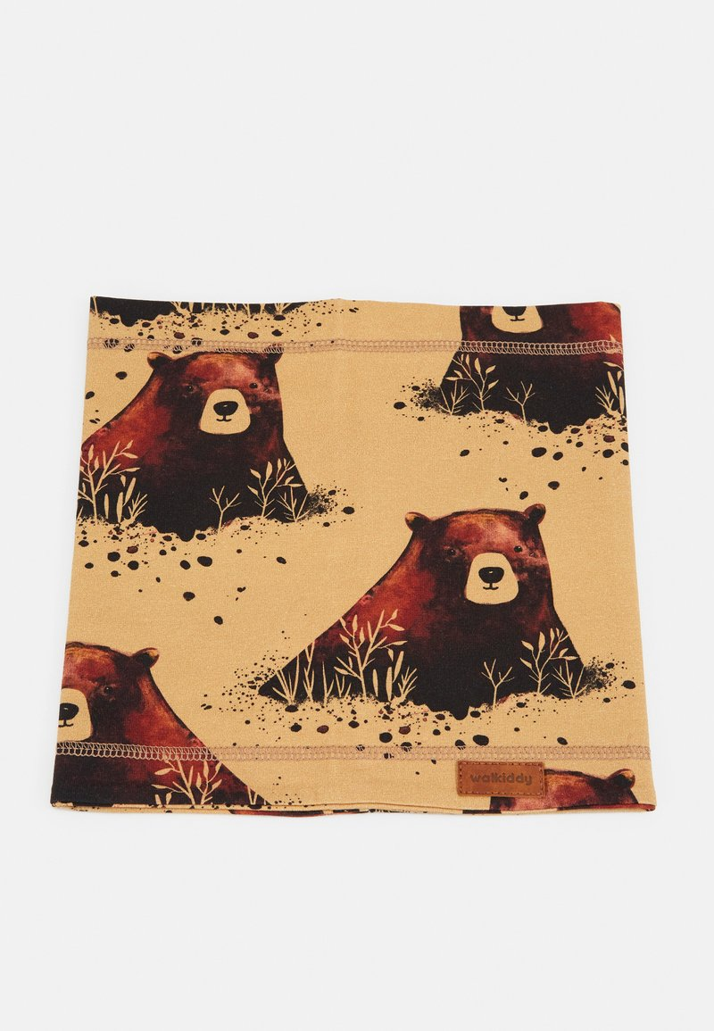 Walkiddy - LOOP GRIZZLY BEAR - Snood - yellow