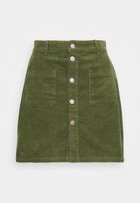JDY - JDYSHIRAZ LIFE SHORT SKIRT - Mini skirt - kalamata - 0