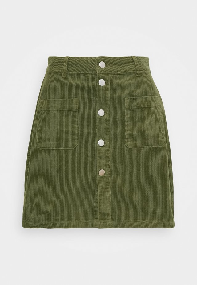 JDYSHIRAZ LIFE SHORT SKIRT - Mini skirt - kalamata