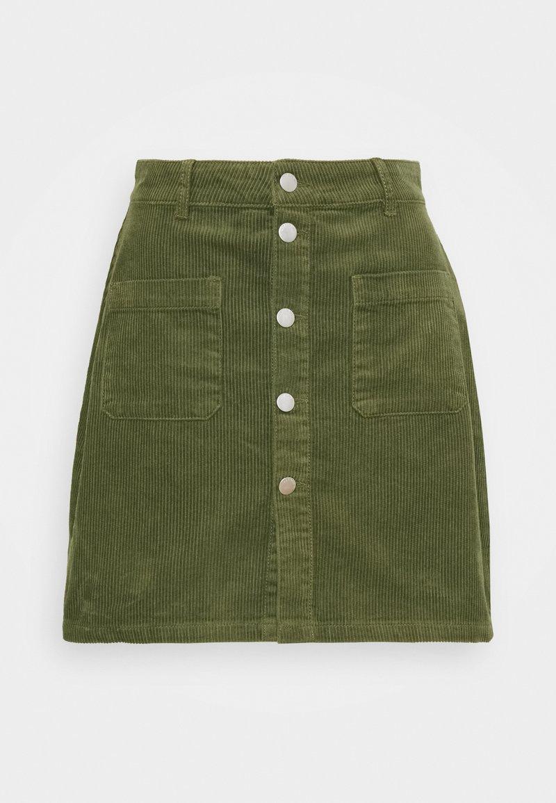 JDY - JDYSHIRAZ LIFE SHORT SKIRT - Mini skirt - kalamata