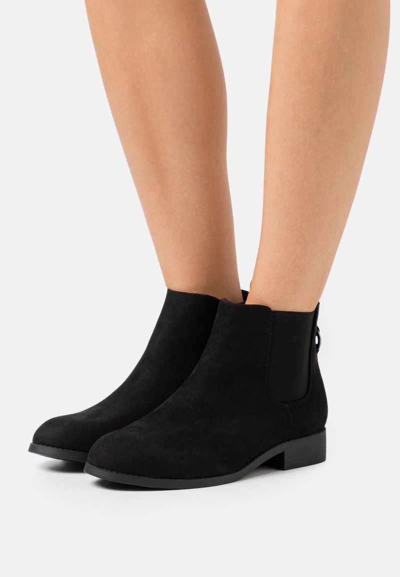 New Look Wide Fit - WIDE FIT BINGY CHELSEA - Ankle boots - black