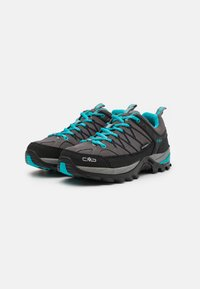 CMP - RIGEL LOW TREKKING SHOES WP - Trekingové boty - graffite/baltic - 1