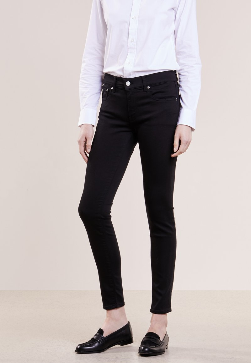 Polo Ralph Lauren - SUPER SKINNY - Slim fit jeans - black