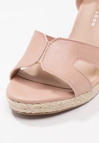 New Look Wide Fit - WIDE FIT POTTER - High heeled sandals - oatmeal - 2
