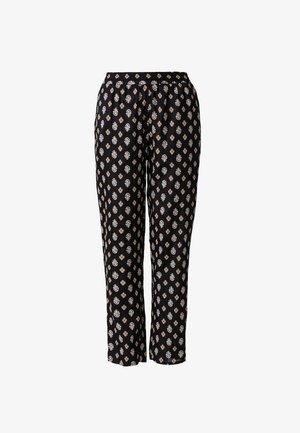 RASHANA - Trousers - black