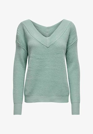 ONLMELTON LIFE - Pullover - teal