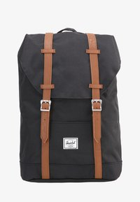 Herschel - RETREAT - Reppu - black/tan - 1