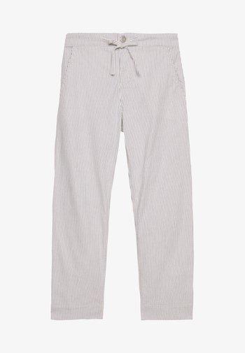 MIDANI WIDE STRIPE - Trousers - milk