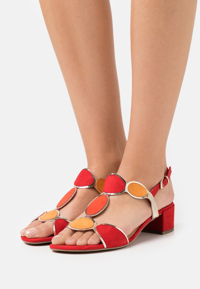 Marco Tozzi - Sandals - red