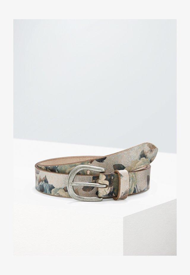 Belt - flower print